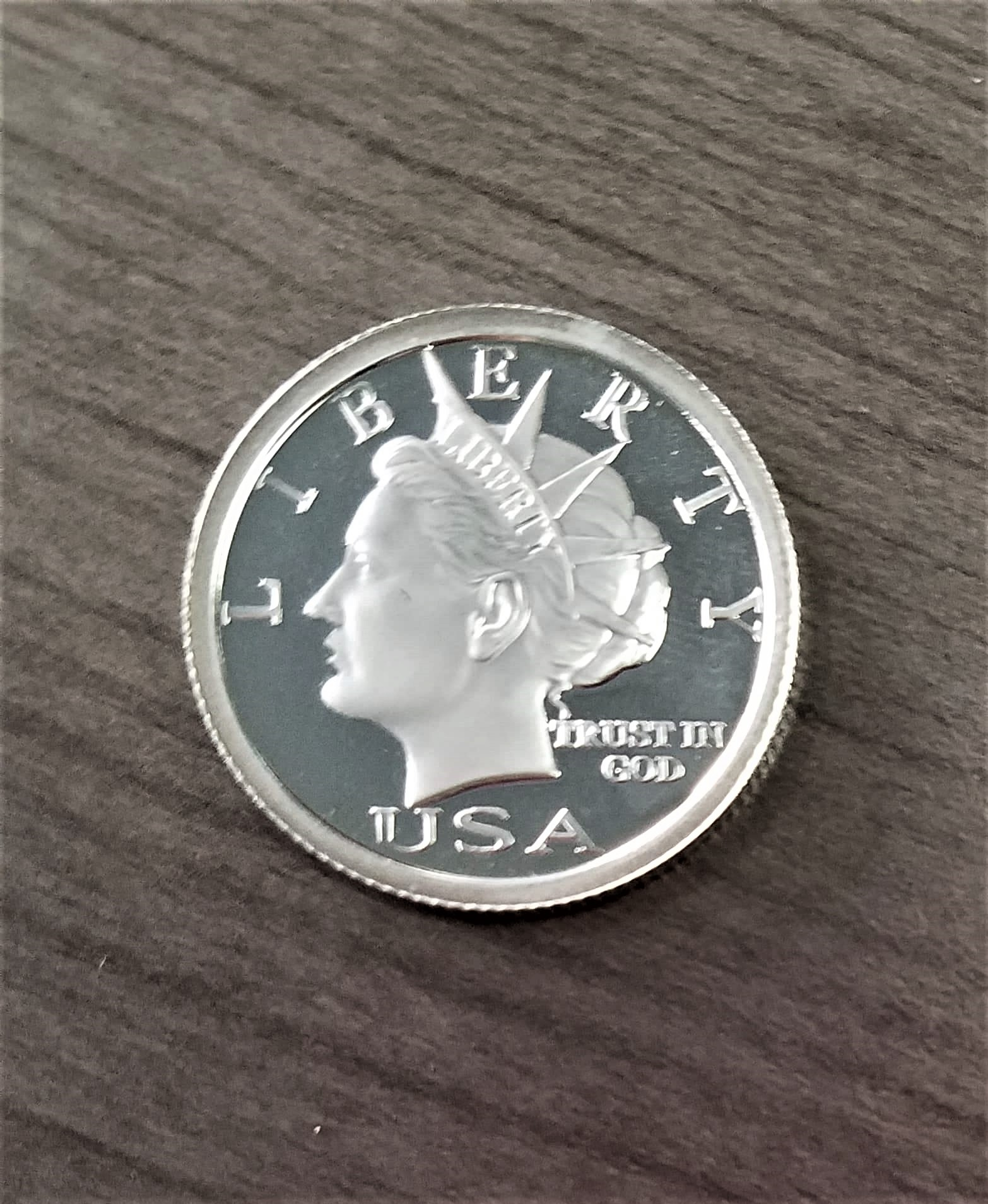 2006 $5 Proofie Quarter Ounce Silver Liberty